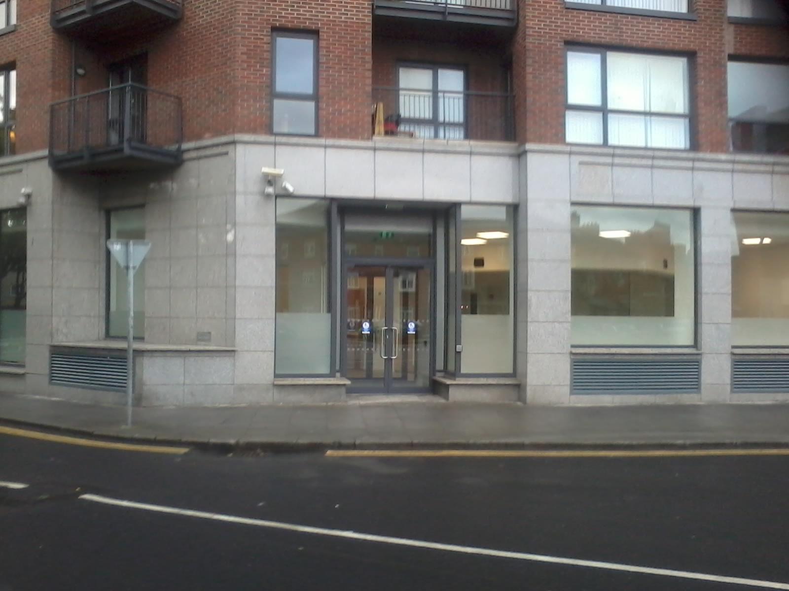 Public Office Entrance